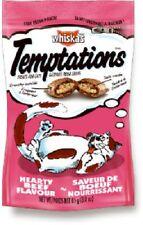 (12) Whiskas 08541 2.1oz Temptations Hairball Control Cat Snacks Treats Food