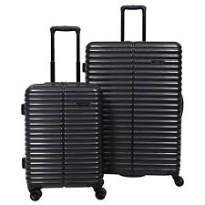 "Revo Icon 2-piece Hardside spinner Luggage Set Black 29"" And 21"""