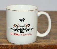 "C-130 Aew&C Lockheed Aircraft mug Us Coast Guard 3.5"" tall"