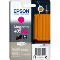 Genuine Epson 405XL High Capacity Magenta Ink T05H340 for Epson Printers