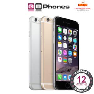 Apple iPhone 6 16GB 32GB 64GB 128GB Colours Used Refurbished Smartphone Mobile