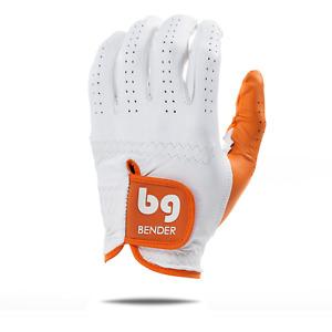 Orange Elite Accent Golf Glove