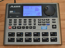 ALESIS SR18 HIGH-DEFINITION DRUM MACHINE WITH POWER SUPPLY, MANUAL & BOX