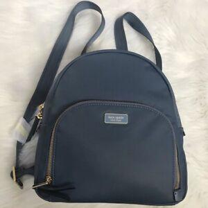 NEW wTag-KATE SPADE Dawn Blue Medium Backpack