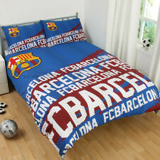 Official Barcelona F.C.Impact Double Duvet Cover Bedding Set