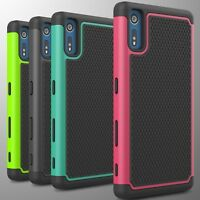 For Sony Xperia XZ Case Tough Protective Hard Hybrid Phone Cover