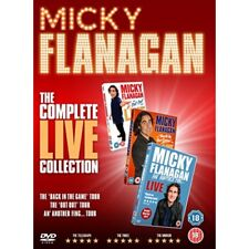 Micky Flanagan The Complete Live Collection 2017 DVD Comedy Region 2