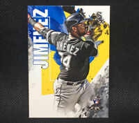 2019 ELOY JIMENEZ Topps Fire RC Rookie Chicago White Sox #168