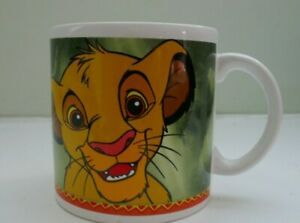 1990's Disney Lion King Large Mug Excellent Cond, Never Been Used