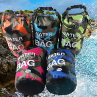 Waterproof Dry Bag Camping Large Backpack Sack for Canoe Floating Boating Bag US