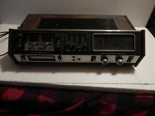 Vintage GE General Electric 8 Eight Track Recorder AM FM Stereo SC2310B