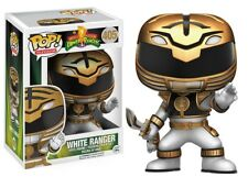 Funko - POP Television: Power Rangers - White Ranger Actn #405