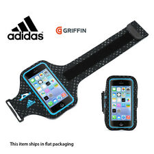 Adidas Armband iPhone SE/5s/5 Ultra-light Running Sports - Black/Blue by Griffin