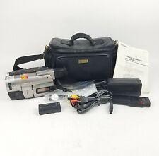 Sony Handycam Vision CCD-TRV66 Hi8 Tape Camcorder Tested Batteries & Remote