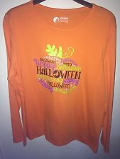 Holiday Additions Halloween Long Sleeve Shirt Size Large
