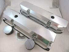 Fabricated Aluminum Short Bolt Style Mopar 383 440 Valve Covers W/ Gaskets V8