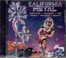 CALIFORNIA METAL Various Artists 1987 BRAND NEW Regency Oop & Rare CD Mastedon