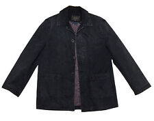 Mens Casual Sports Jacket Dark Wash 3 Button 2 Front Pockets Size L