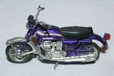 VINTAGE DIECAST ZEE TOYS RIDGE RIDERS PURPLE HONDA 750 MOTORCYCLE MOTOR BIKE