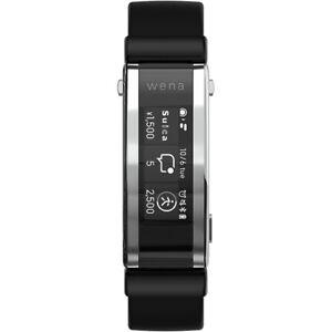 SONY WNW-A21A B smart watch wena 3 rubber Black