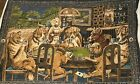 Vintage Tapestry Dogs Playing Poker Wall Hanging (See Description)