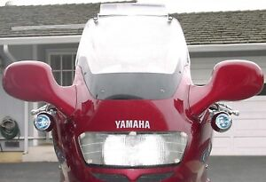 6000K LED Auxiliary Flood Lights Lamps Kit for Yamaha GTS1000 ( all years )