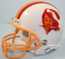 TAMPA BAY BUCCANEERS (1976-1996 Throwback) Riddell VSR4 Mini Helmet