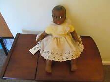 Gerber Baby Doll Black African American 1979 Flirty Eyes 17'' Tall