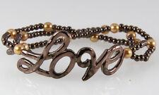 4030911 Love Beaded Stretch Bracelet I Love You Promise Jewelry
