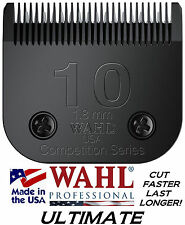 Wahl ULTIMATE COMPETITION 10 BLADE*Fits Most Andis Clippers*Pet Dog Cat Grooming