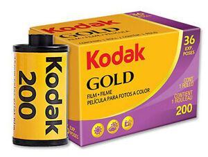 Kodak Gold 200 iso Colour Print Film 135 35mm 36exp (UK Stock) 36 exposures BNIB