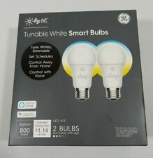 C by GE A19 Smart Light Bulb Tunable White Light Bulb 2-Pack FREE SHIP