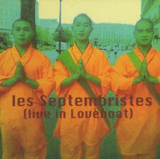 CD LES SEPTEMBRISTES - live in loveboat