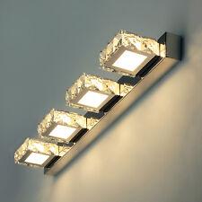 """Premiumleuchte LED """"MIR-1A"""" 12W Spiegellampe Spiegelleuchte Wandleuchte Kristall"""