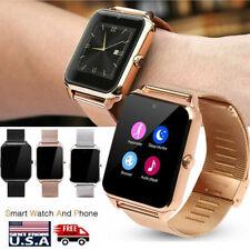 Unlocked Smart Watch Make Call SMS Message for iPhone Samsung Motorola Men Women