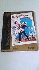 """DVD """"UN AMERICANO EN PARIS"""" DVD LIBRO VINCENTE MINELLI GENE KELLY LESLIE CARON"""