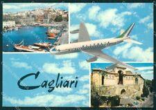 Cagliari Città Aereo Foto FG cartolina ZKM7929
