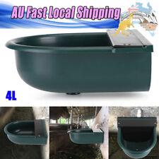 Green Float Valve Water Trough Bowl Stock Waterer Drinking Pet Cat Sheep Dog
