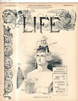 1899 Life February 23-McKinley; Wagner opera; Problems in the Philippines; Somoa