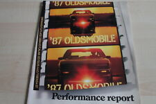 119167) Oldsmobile Toronado Cutlass Ciera GT Firenza - USA - Prospekt 08/1986