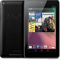 Nexus 7 (1st Gen) 16 GB, Wi-Fi, 7in -Black, W/Charger and Stylus,Android Tablet