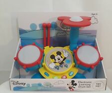 Disney Mickey Mouse Clubhouse Electronic Learning Drum Set