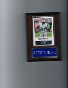REGGIE BUSH PLAQUE DETROIT LIONS FOOTBALL NFL   C