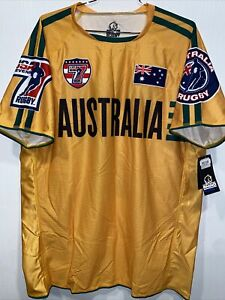 NWT Men's Rhino Rugby USA SEVENS Australia Jersey Size Large