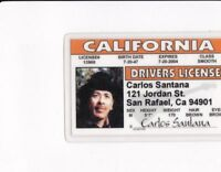 California - state of CA drivers License fake id card
