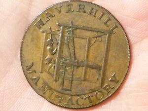 1794 John Fincham Suffolk Haverhill Manufactory Token #TT62