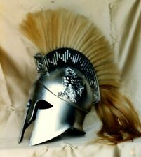 Three rubber molds to make life size Greek Corinthian resin helmets from.  armor