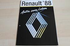 139325) Renault Alpine V6 - R5 GTX - Espace J11 Prospekt 1988