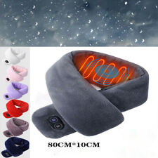 Usb Charging Heating Couple Scarf Heating Neck Guard Vibration Massage Scarf