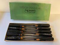 "Vintage Upson ""Flat Tip"" Screwdrivers Full Box NOS Unused 1950-60s Qty 10 Lot #2"